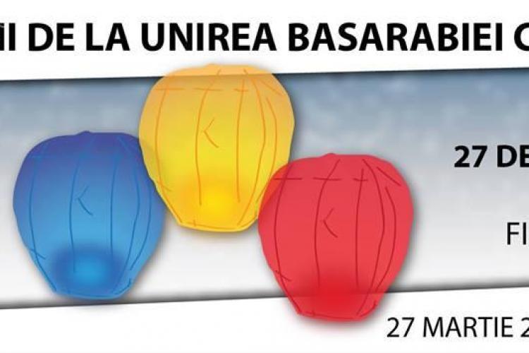 Lampioane tricolore lansate la Cluj și alte 40 de orașe