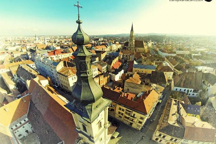 """""""Servus 2021"""" - MOTTO -ul proiectului Cluj - 2021 Capitală Europeană. Clujul vrea sa fie: """"East of West"""""""