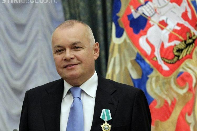 """Un prezentator rus agită spiritele în privința crizei din Ucraina: """"Rusia poate transforma SUA în cenușă radioactivă"""""""