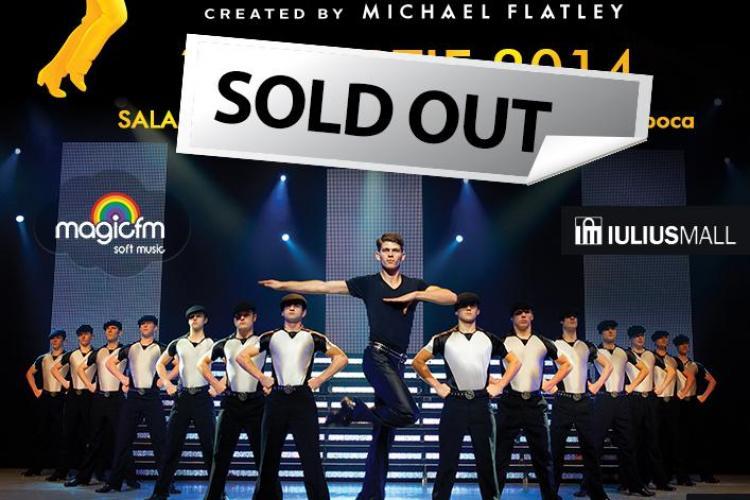 Lord of The Dance- sold out la Cluj. VEZI cum poți câștiga bilete la concert