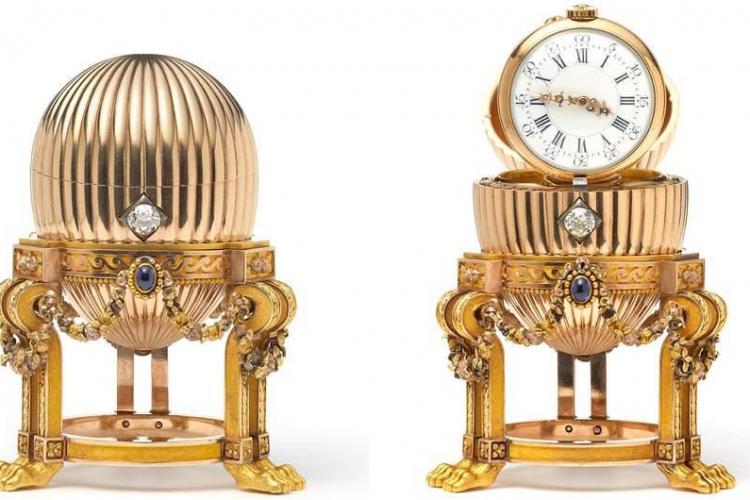 A cumpărat un ou imperial Faberge de la piața de vechituri cu 13.000 de dolari. Cât valorează bijuteria?