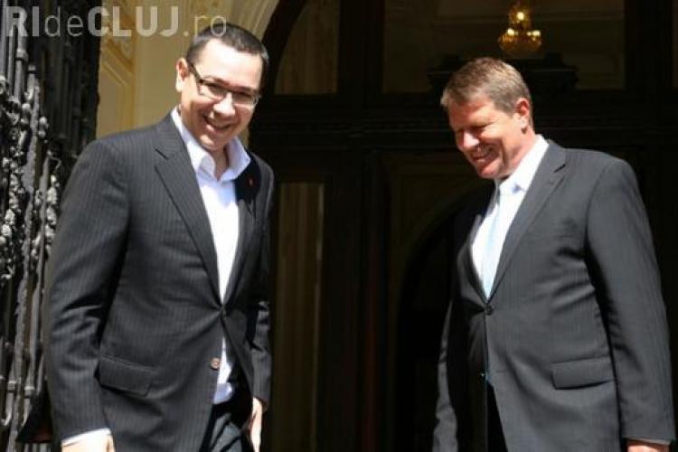 Ponta preşedinte şi Iohannis premier, cel mai apreciat tandem în viziunea românilor