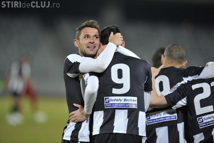 U Cluj joacă un amical cu porțile închise înaintea de derby -ul cu Dinamo