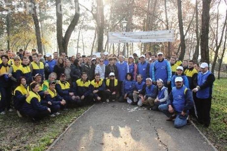 Japonezii fac curățenie la Liceul Gheorghe Șincai