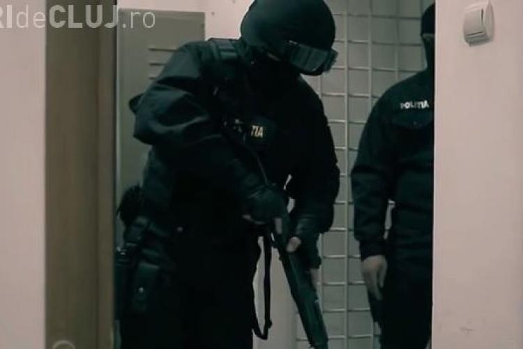 Film profesionist de prezentare a Poliției Cluj - Demonstrație de tehnică și forță - VIDEO