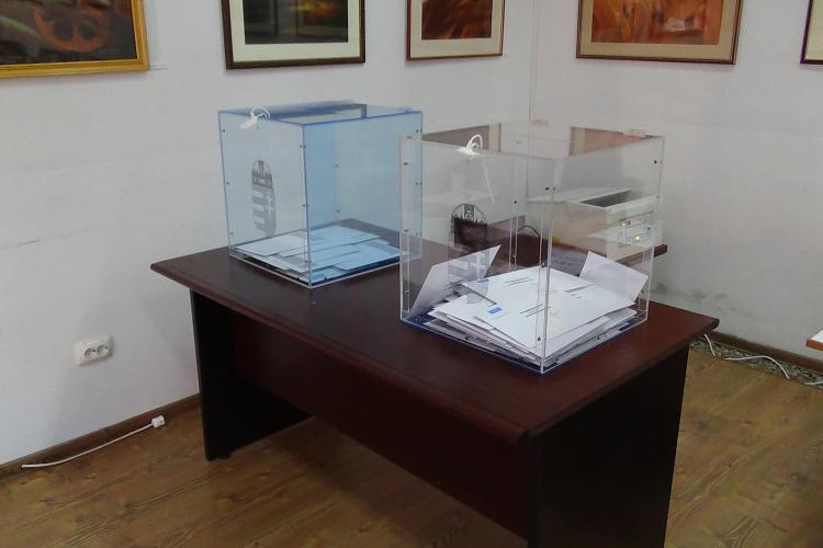 Maghiarii din Cluj votează pentru Parlamentul Ungariei și președinție - VIDEO