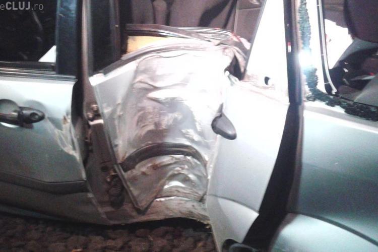 Accident în Cluj, la Luncani. O fetiță de 13 ani a murit. Tatăl ei era beat la volan - FOTO
