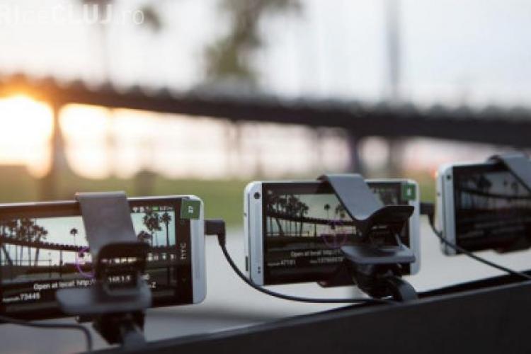 Cum arată un CLIP filmat cu 130 de telefoane HTC One - VIDEO