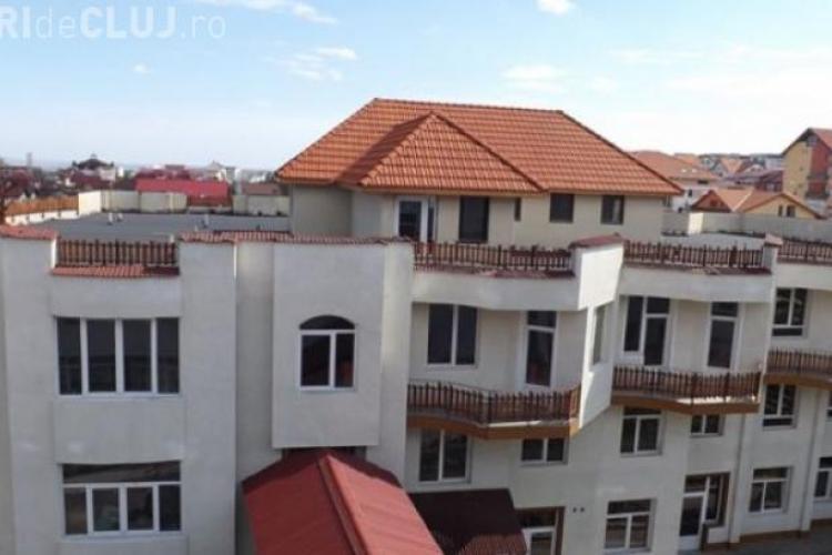 Adevărul despre casa de pe bloc construită la Cluj - FOTO