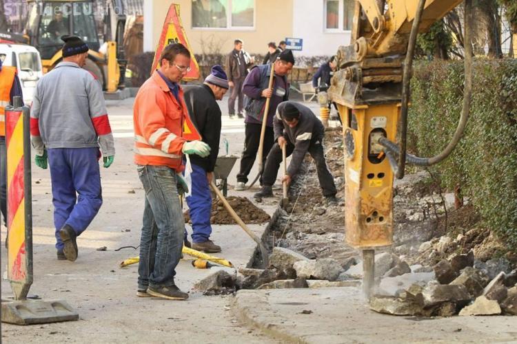 Zece străzi din Cluj-Napoca vor fi asfaltate în acest an