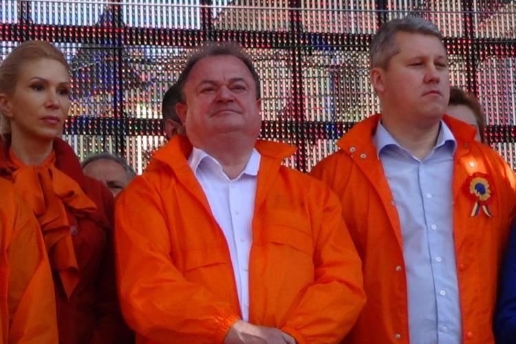 Boc nu s-a DUS la mitingul PDL de la Cluj. Dacă a lipsit el, au lipsit și 10.000 de PDL - isti - FOTO