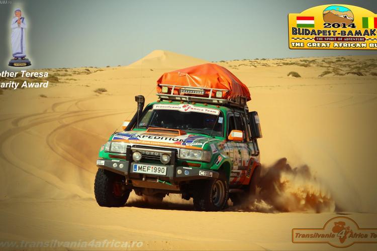 Echipa Transilvania 4 Africa a revenit acasă din raliul umanitar - FOTO
