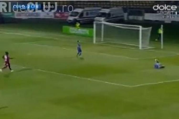 Corona Brașov - CFR Cluj 2-2. Brașovenii au egalat după o repriză în care au fost dominați REZUMAT VIDEO