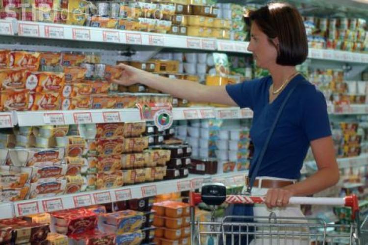 Cât au crescut preţurile de consum în ultimele 12 luni