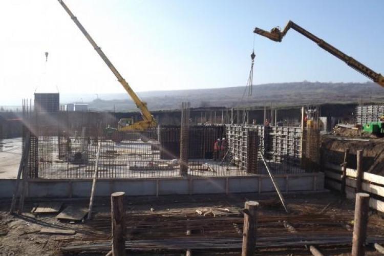 Firma care construieşte Buftea de Cluj a intrat în insolvenţă