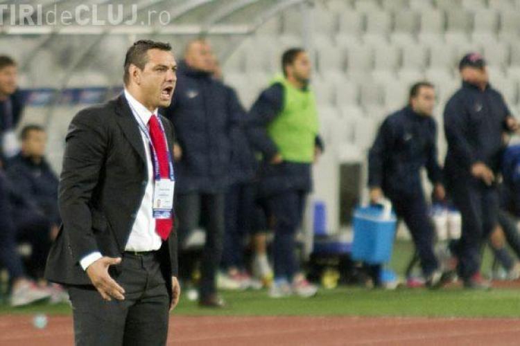 """Ganea a amenințat un oficial al U Cluj. A spus că îi va scoate și """"celălalt ochi"""""""