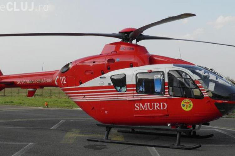 De ce este elicopterul SMURD la Sălaj și nu la Cluj?