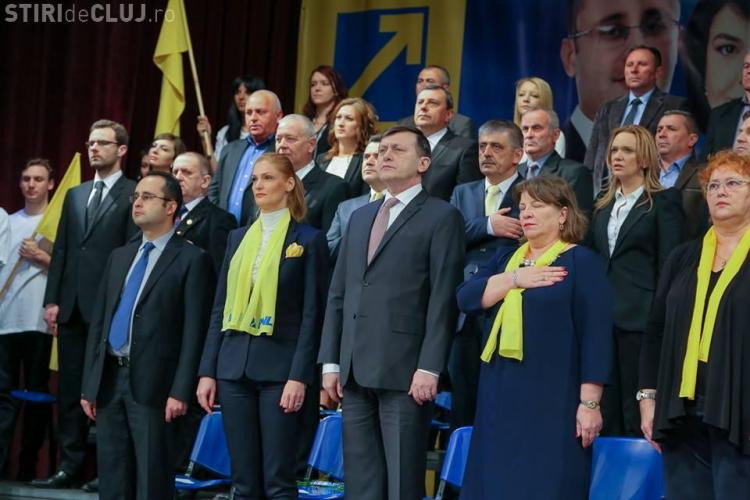 Antonescu la Cluj: PNL nu se va întoarce vreodată în genunchi la PSD