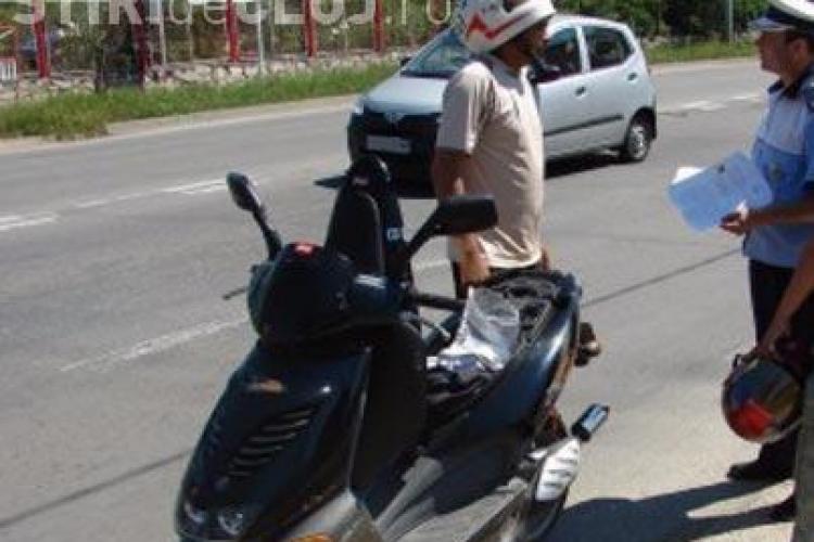 Meltean de Baciu! Mort de beat pe moped și fără permis