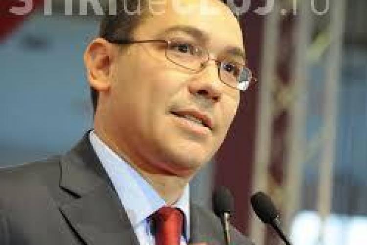 Ponta anunță că se retrage din politică