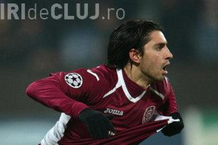 Rui Pedro cedat de CFR Cluj pentru 300.000 de euro. Prețul a scăzut de 5 ori