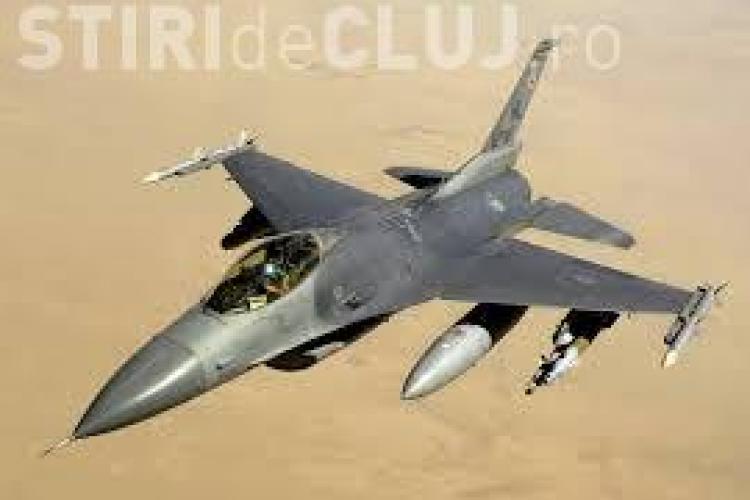 Exercițiu militar cu avioane americane la Câmpia Turzii. Vezi când va avea loc