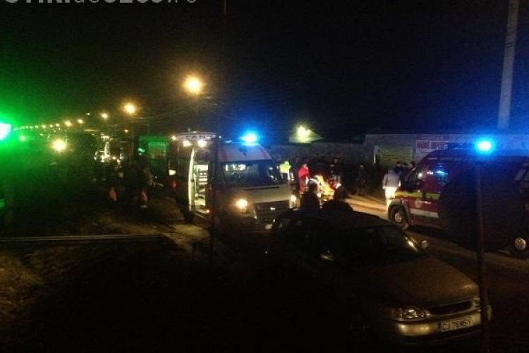 Accident în Florești, lângă unitatea militară! Un șofer a lovit și a fugit. Martorii au luat RAPID MĂSURI