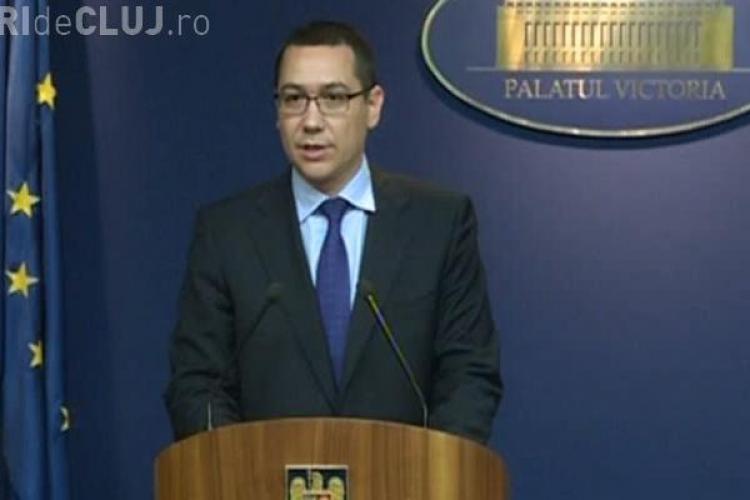 Victor Ponta și-a mutat biroul la MApN