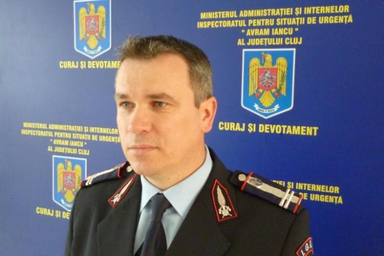Noul șef al ISU Cluj a fost instaurat în funcție FOTO