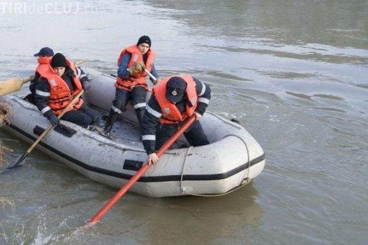 Bătrână înecată în Someș. Trupul neînsuflețit i-a fost recuperat de pompieri