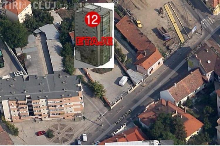 Blocul TURN al senatorului Alin Tișe desființat de arhitecți. Oamenii de pe strada Ploiești au protestat