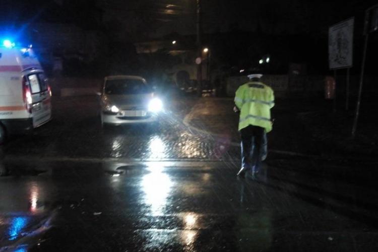 Șofer prins în timp ce mergea cu mașina pe CONTRASENS în centrul Clujului. Era rupt de beat