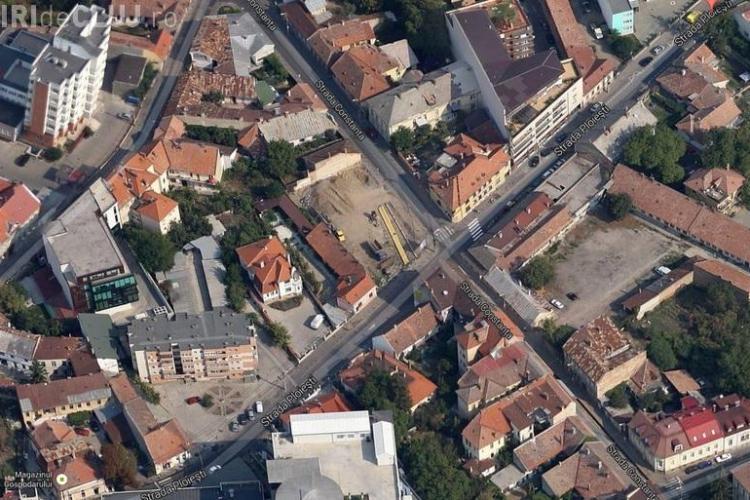 Boc despre blocurile turn din zona Pieței Mihai Viteazu: Sunt viziunea domnului Iosif Pop