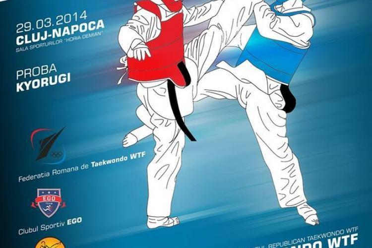 Campionatul Național de Taekwondo WTF are loc la Cluj-Napoca - FOTO