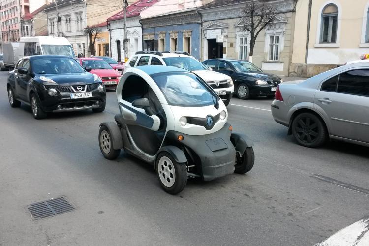 Regele Șoselelor - În Cluj-Napoca circulă un super autoturism electric - FOTO