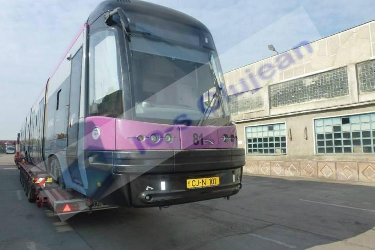 Un tramvai MOV de la Cluj va fi expus la Oradea - FOTO