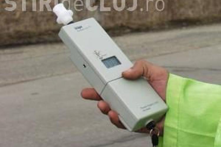 Șofer prins RUPT DE BEAT cu mașina prin Cluj