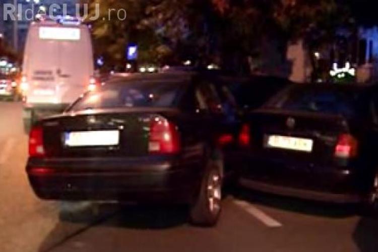 Accident pe strada Oltului - intersecție cu Siretului. Patru mașini au fost implicate, iar pagubele sunt FOARTE MARI