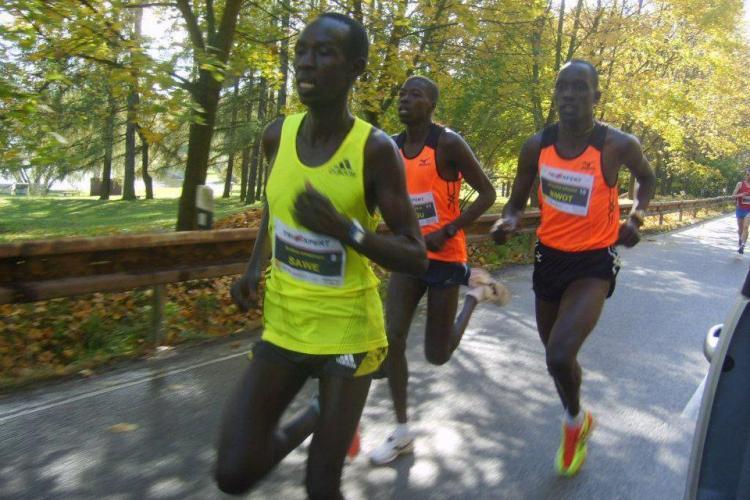 Un kenyan a câștigat Maratonul Internațional de la Cluj - FOTO