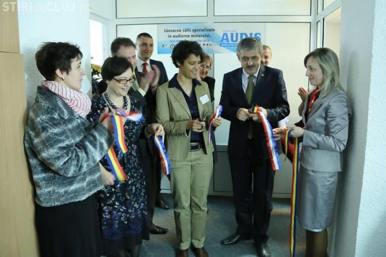 Sală specializată de audiere a minorilor INAUGURATĂ la Cluj - FOTO