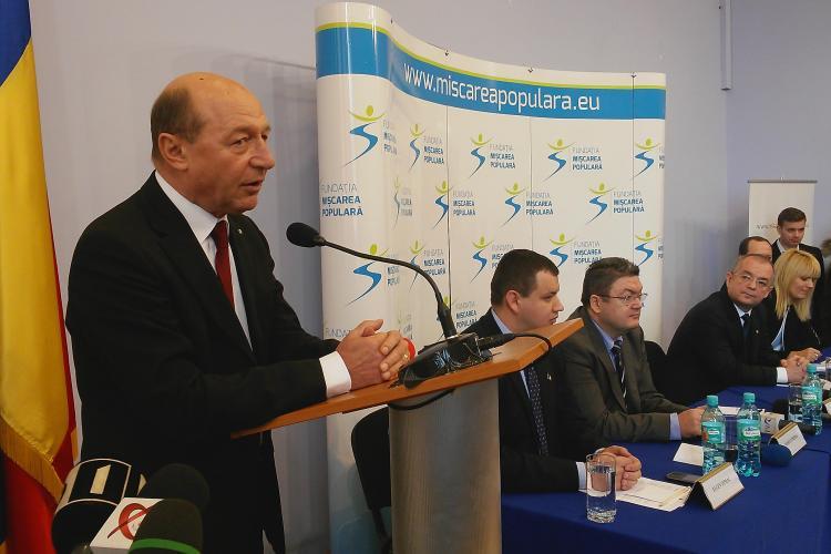 Parchetul suspendă cercetarea lui Băsescu, pentru că are imunitate