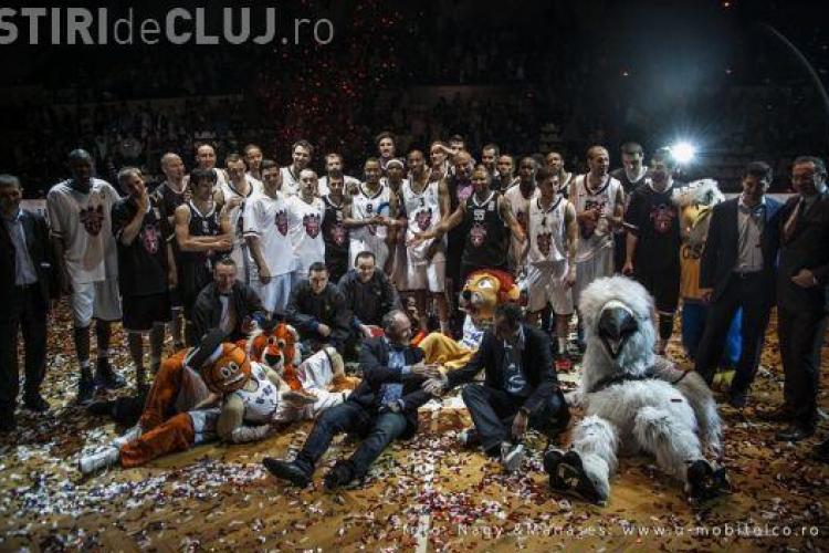 All Star Game - Spectacol total la Cluj-Napoca. A fost omagiat Horia Demian, cel mai bun baschetbalist clujean al tuturor timpurilor