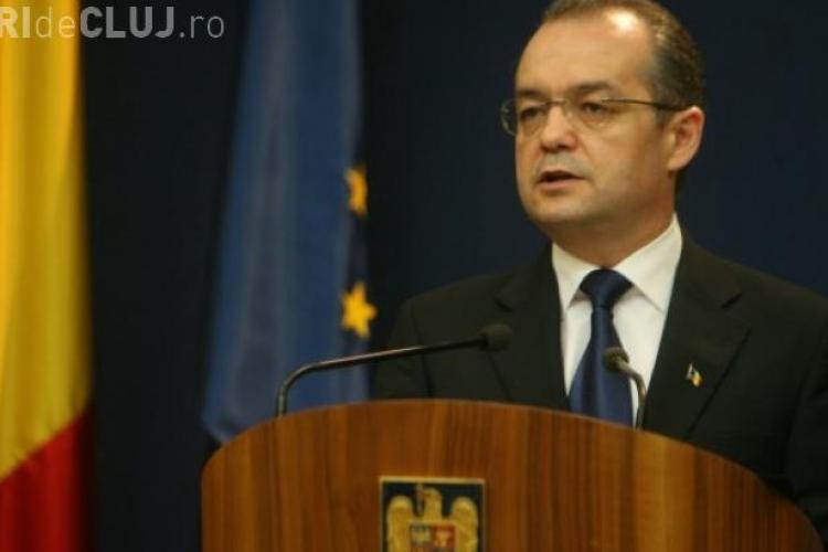 Emil Boc a mers la Bruxelles pentru a discuta despre incluziunea socială a romilor la Cluj