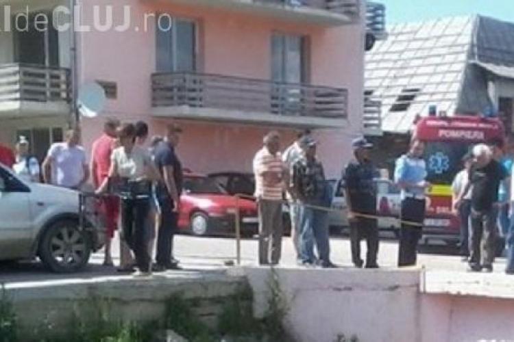 Accident pe strada Eroilor din Florești