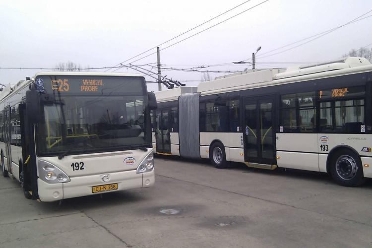 Transport ecologic în Apahida, Baciu și Florești. Troleibuzele înlocuiesc autobuzele