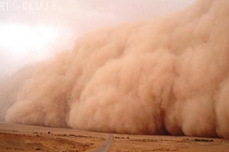 Norul de praf din Sahara va fi studiat de UBB Cluj