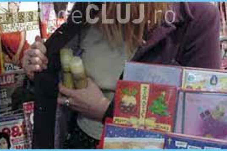 Două eleve au fost prinse la furat în centrul Clujului