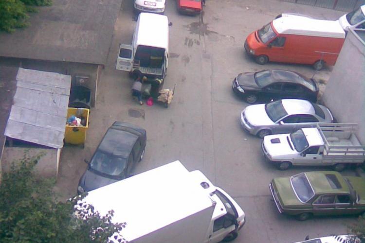 Dovada CLARĂ că garajele din Cluj-Napoca sunt depozite de marfă - FOTO