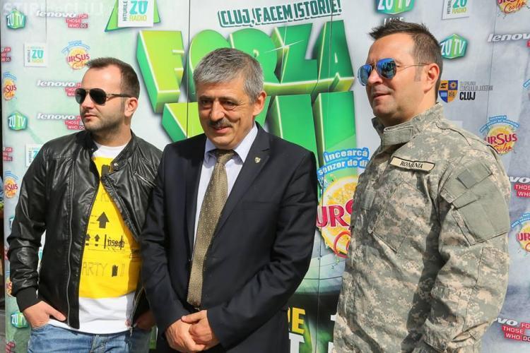 Forza ZU pe Cluj Arena, în 17 mai