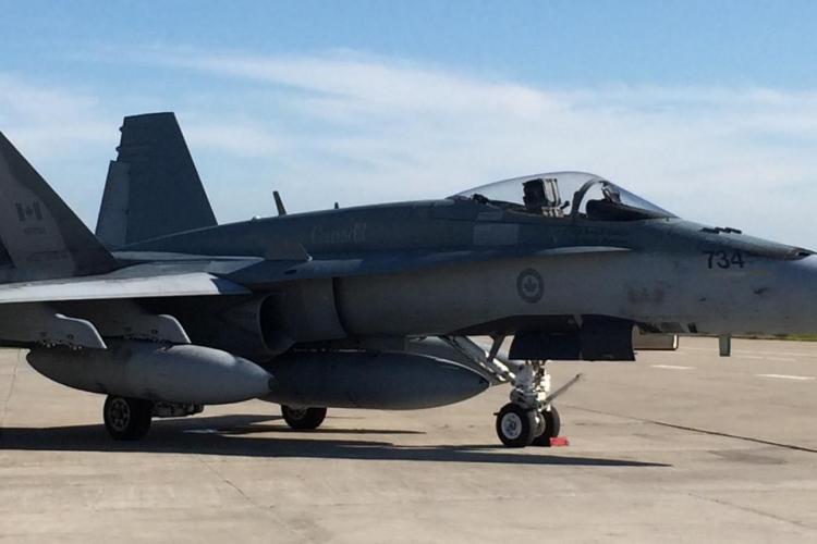 Avioanele CF-18 Hornet au ajuns la Câmpia Turzii și vor sta CINCI LUNI - FOTO